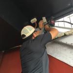 沖縄県 宜野湾市 ビリヤード場 AHDカメラ8台 リプレース設置工事