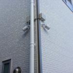 沖縄県糸満市 新築一戸建て バレット型 無線IPカメラ4台 設置工事